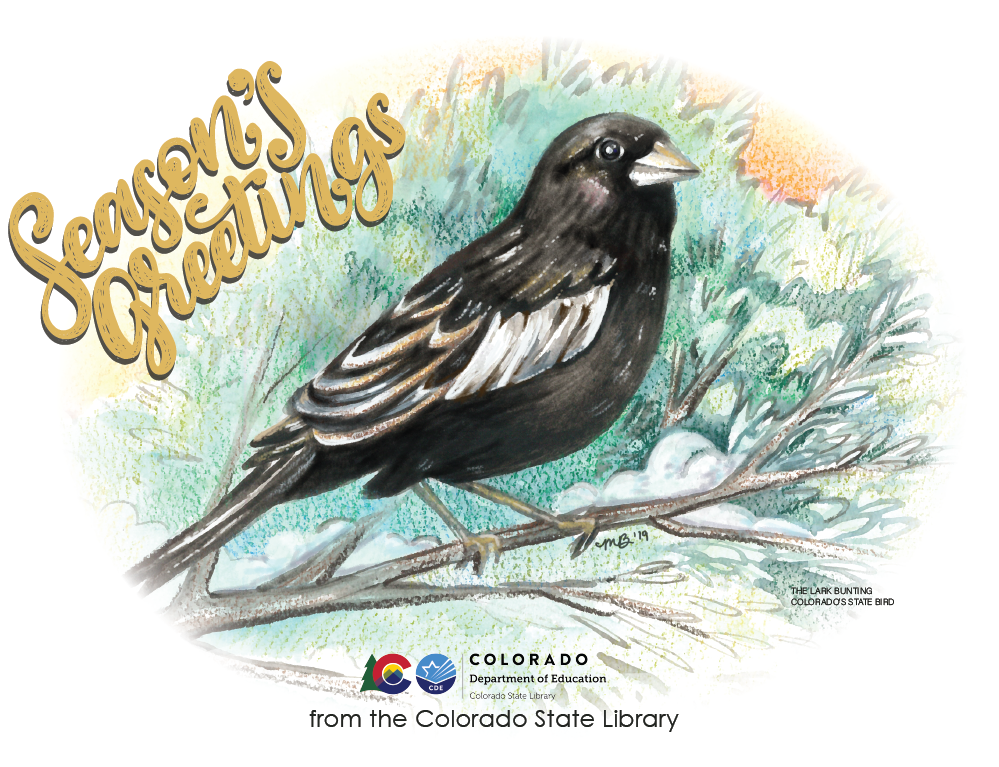 Season's Greetings from the Colorado State Library