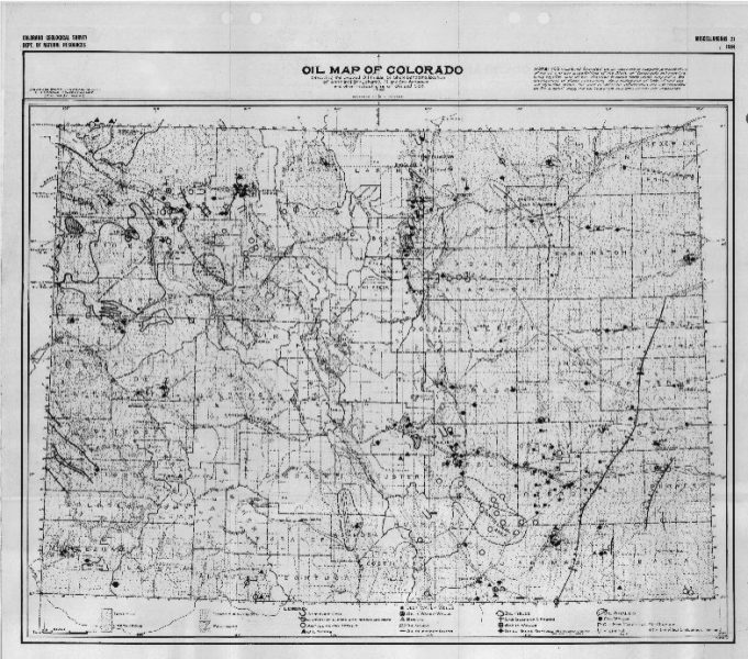 Time Machine Tuesday: Oil and Gas in Colorado, 1925