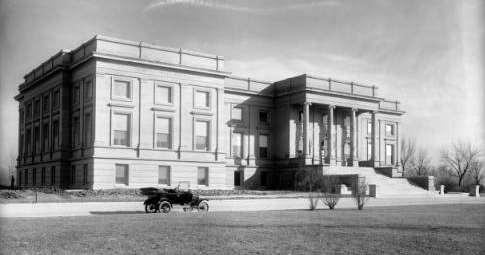 Denver Museum of Natural History circa 1918-1919(Credit: Denver Public Library)