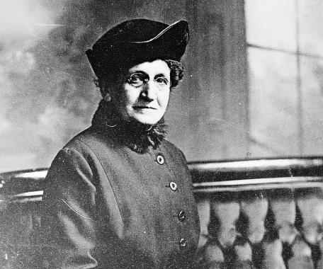 Minnie J. Reynolds Scalabrino: Activist