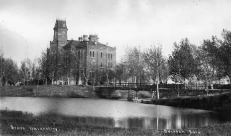 University of Colorado-Boulder circa 1880-1890(Credit: Denver Public Library)