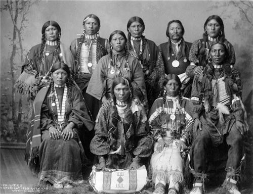 Utes circa 1896-1899(credit: History Colorado)