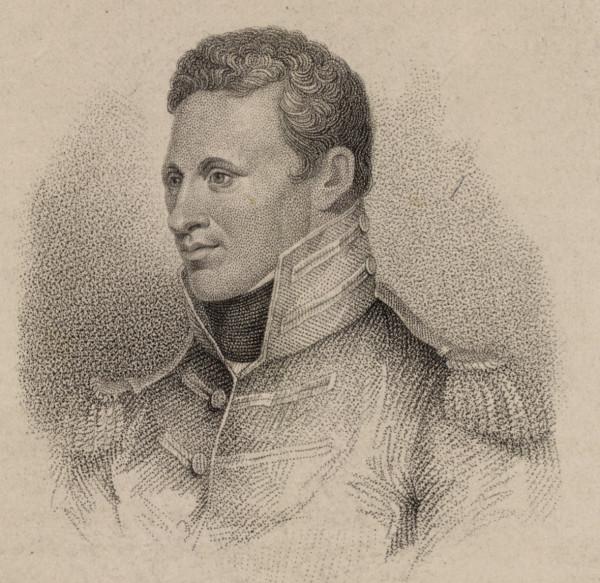 engraved portrait of Zebulon Pike