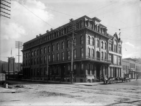 Inter-Ocean Hotel circa 1900 (credit: Denver Public Library)