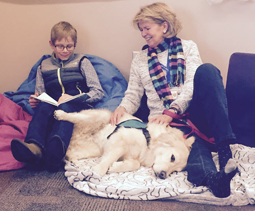Read to a Dog Fraser Valley Library