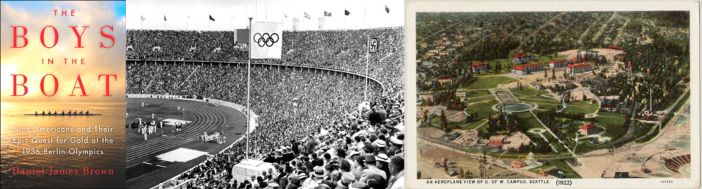 (1936 Olympics image credit: German Federal Archives via Wikicommons)