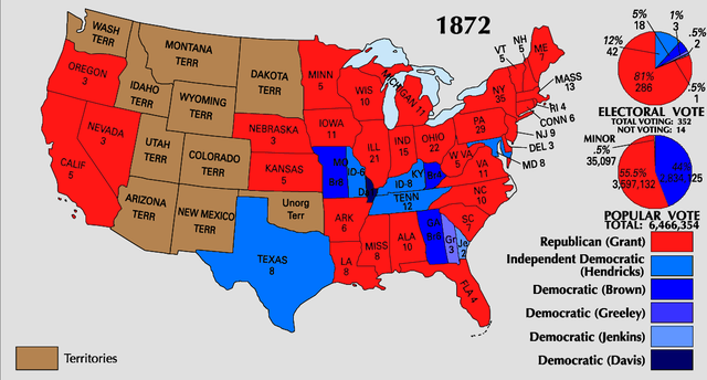 Topics in History: Presidential Election of 1872
