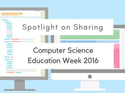 Computer Science Education Week 2016
