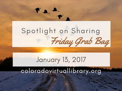 Friday Grab Bag January 13 2017