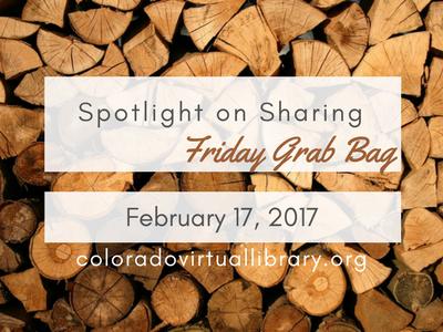 Spotlight on Sharing: Friday Grab Bag, February 17, 2017