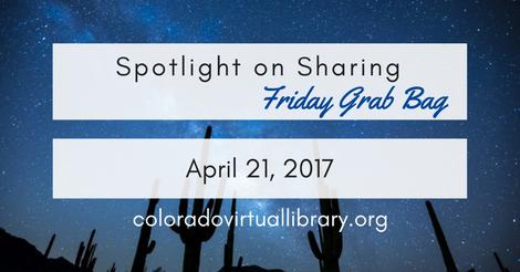 Friday Grab Bag April 21, 2017