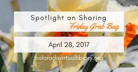 Friday Grab Bag April 28, 2017