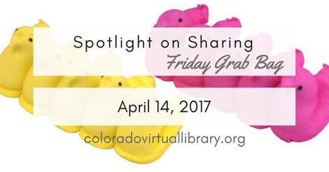 Friday Grab Bag April 14, 2017