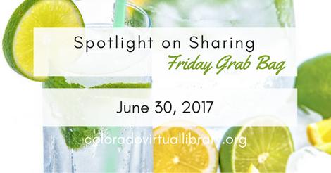 Friday Grab Bag, June 30, 2017