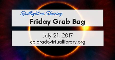 Friday Grab Bag July 21, 2017