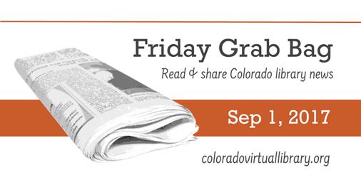 Friday Grab Bag, September 1, 2017