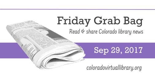 Friday Grab Bag, September 29, 2017