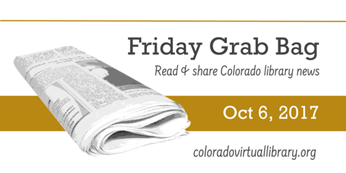 Friday Grab Bag, October 6, 2017