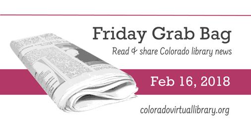 Friday Grab Bag, February 16, 2018