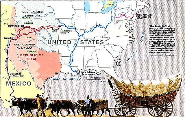Time Machine Tuesday: The Santa Fe Trail