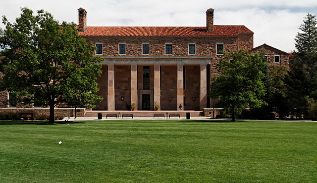 The Architecture of the CU Boulder Campus