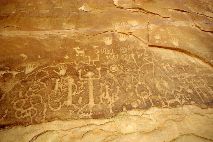 Time Machine Tuesday: Native American Rock Art