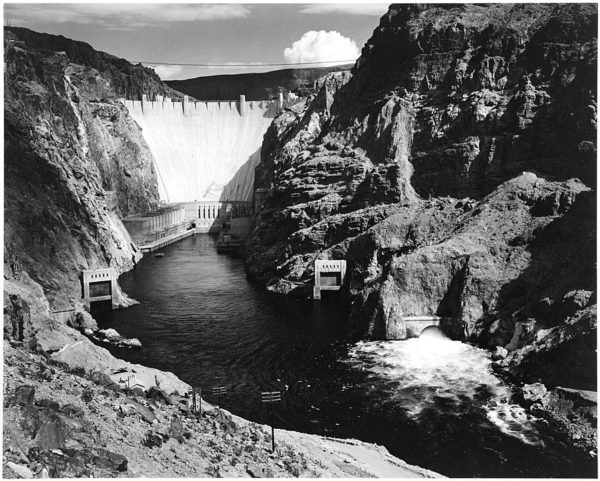 Ansel Adams Boulder Dam National Archives