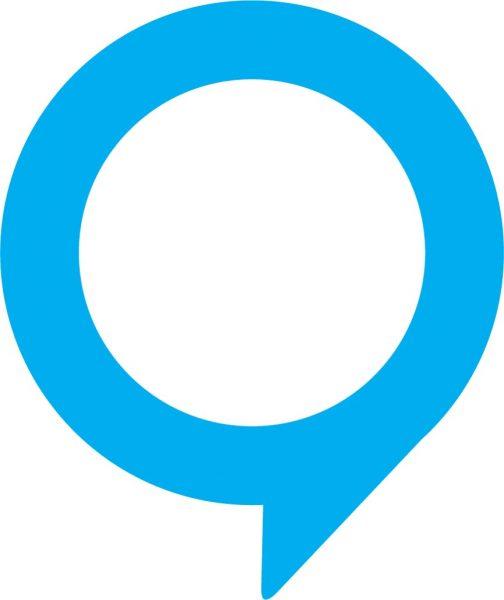 blue chat bubble