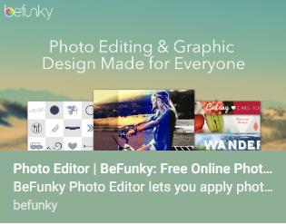 Photo Editing – Bag of Tricks
