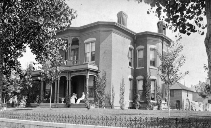 Time Machine Tuesday: Byers-Evans House Museum