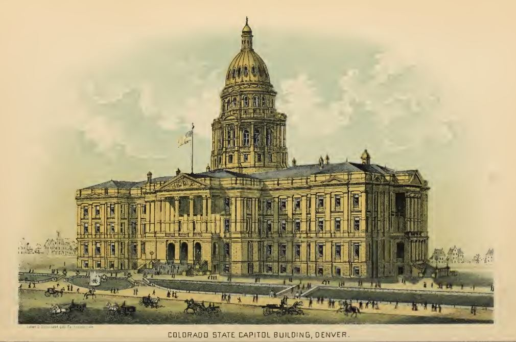 Time Machine Tuesday: Building the State Capitol