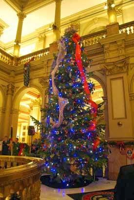 Colorado Capitol Christmas Tree