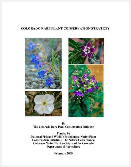 Conserving Colorado's Rare Plants