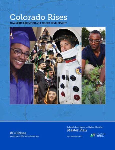 Colorado Rises Higher Education Master Plan