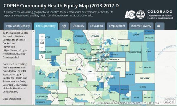 Community Health Equity Map