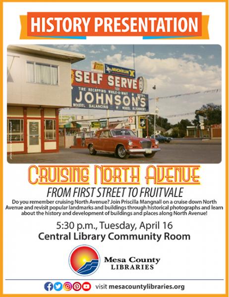 History Presentation: Cruising North Avenue at Mesa County Libraries
