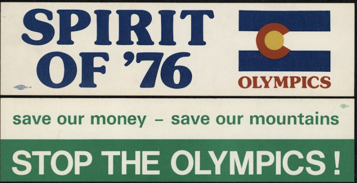 Time Machine Tuesday: Colorado's Vote Against the Olympics