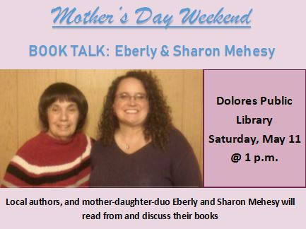 Mother's Day Weekend Book Talk: Ebery & Sharon Mehesy