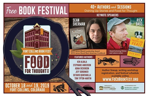 Fort Collins Book Festival 2019: Food for Thought