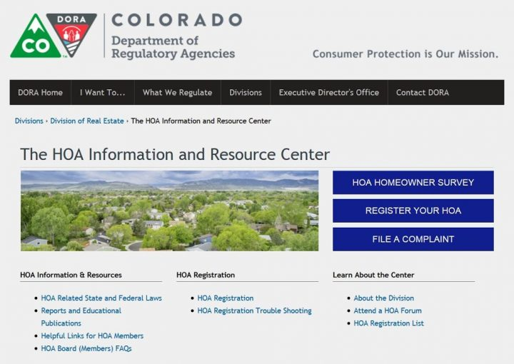 HOA Information and Resource Center