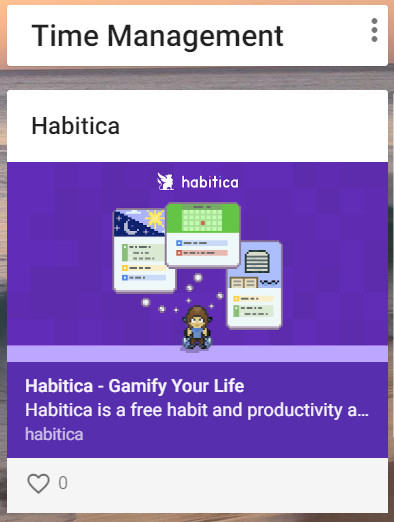 Making a habit of Habitica – Bag of Tricks