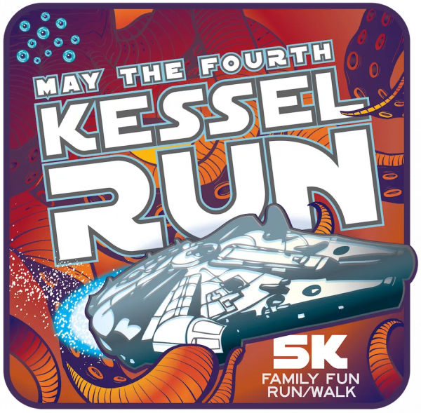 May the fourth: Kessel Run 5K Family Fun Run/Walk