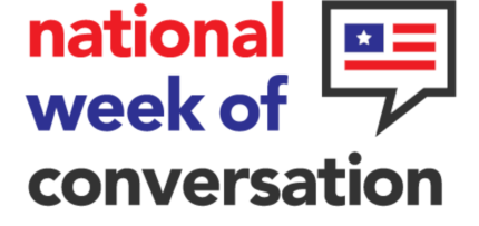 National Week of Conversation – April 5-13, 2019