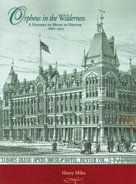History of Colorado's Performing Arts
