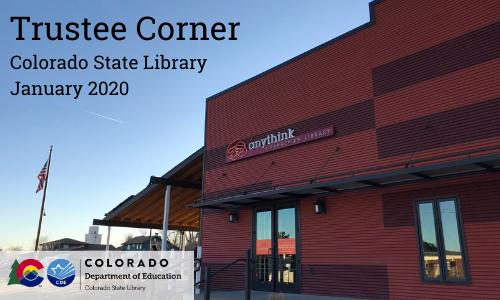 Trustee Corner – January 2020