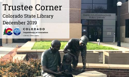 Trustee Corner – December 2019