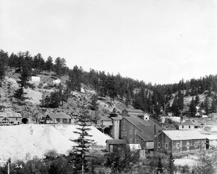 Time Machine Tuesday: Tungsten Mining in Colorado
