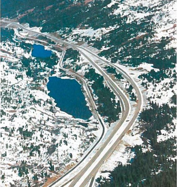 Time Machine Tuesday: Constructing Vail Pass