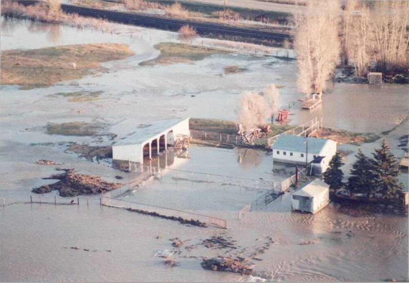 Time Machine Tuesday: 1984 Floods and Landslides