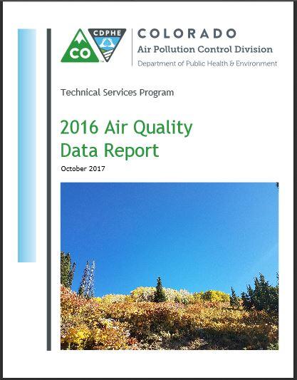 Colorado Air Quality Data